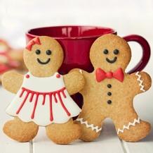 cortadores de galletas niña y niño