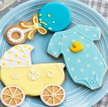 Cortadores galletas bebe