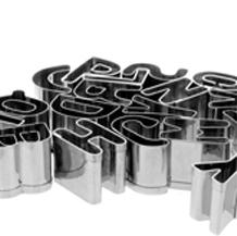 Cortadores letras y números
