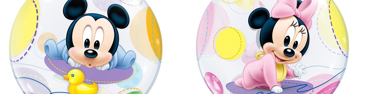Globos Burbuja Decorados