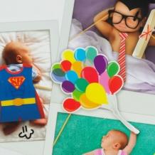 Photocall para bautizos y bebés