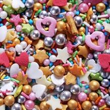 Sprinkles y Decoraciones de Azúcar Bodas