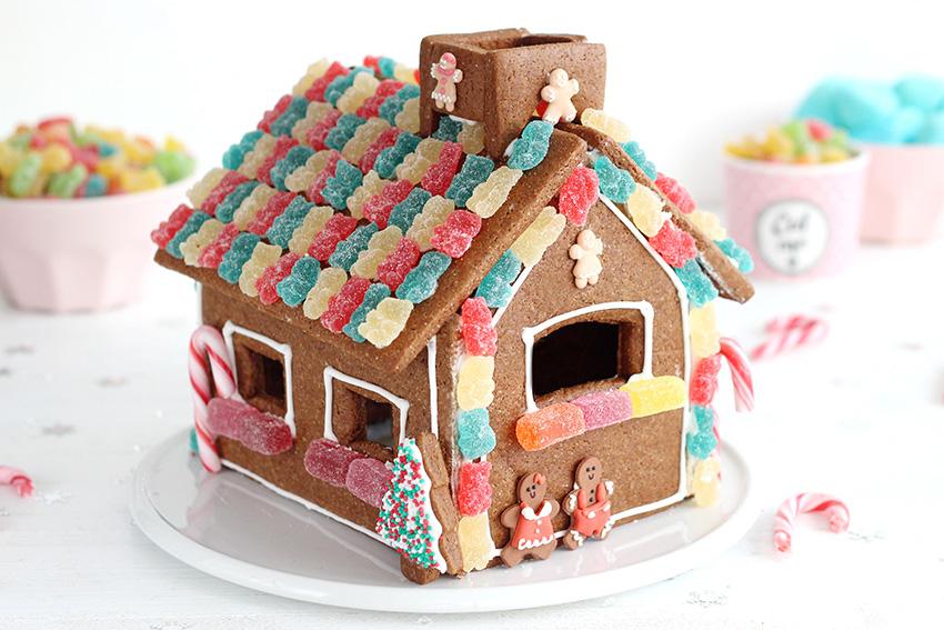 casa de galletas navidad