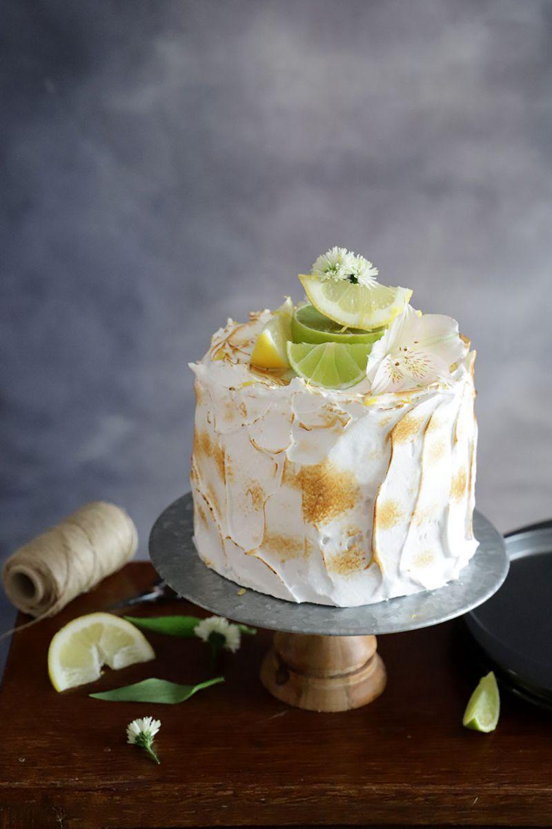 Layer Cake de Limón y Merengue 2