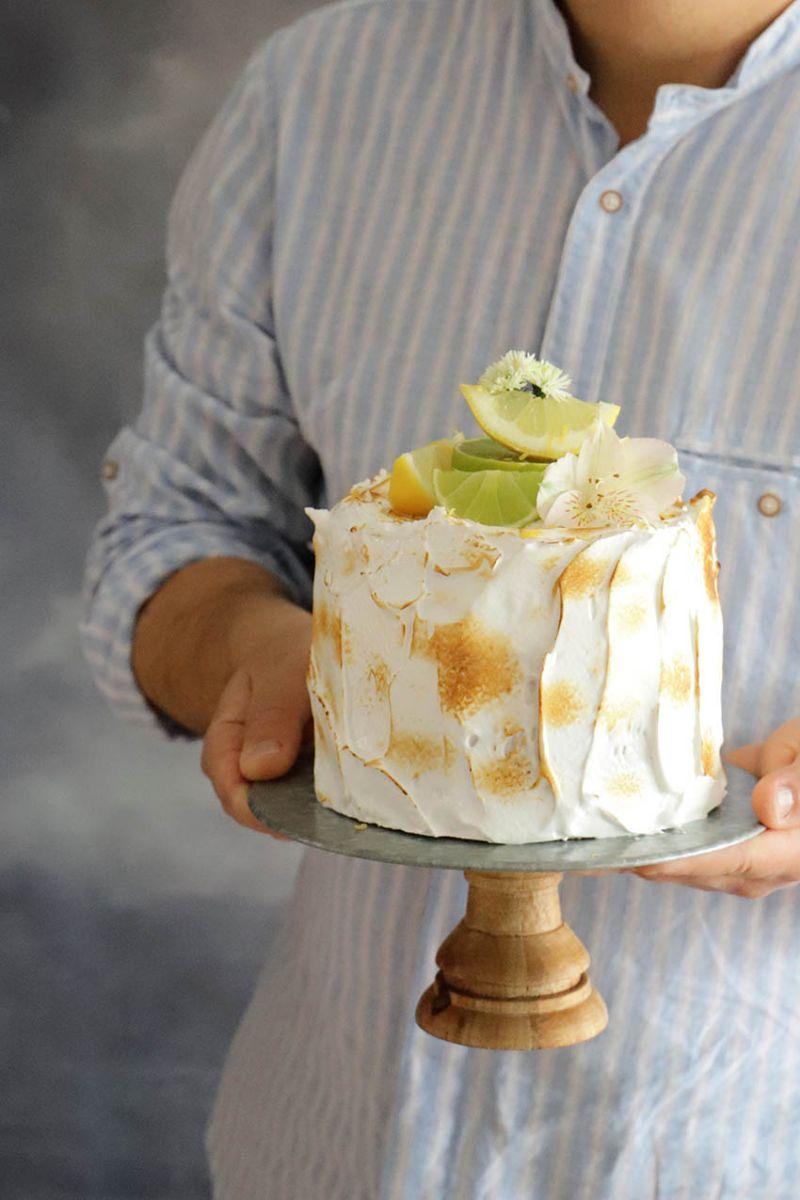 Layer Cake de Limón y Merengue 5