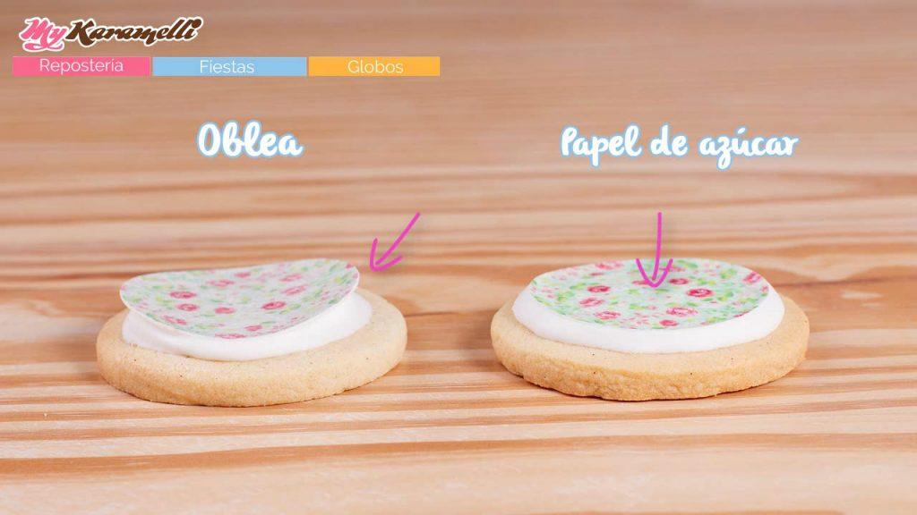 Cómo Pegar Papel De Azúcar Y Obleas Sobre Galletas