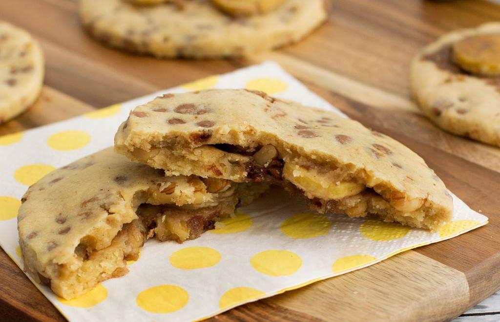 galletas de plátano