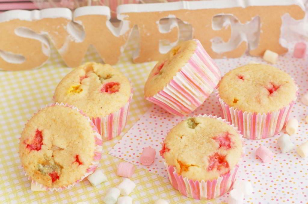 cupcakes de nube