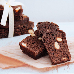 Biscotti de chocolate y almendras
