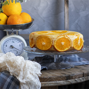 Tarta Invertida de Naranja