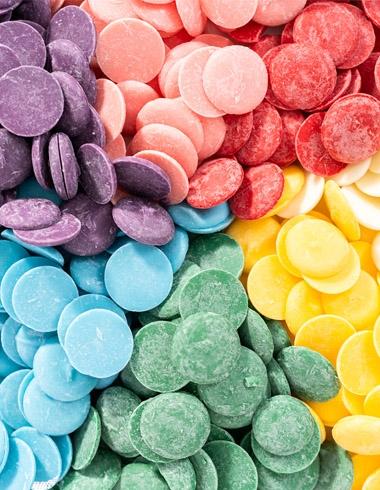 Candy Melts (Cobertura de colores para Tartas y Dulces)