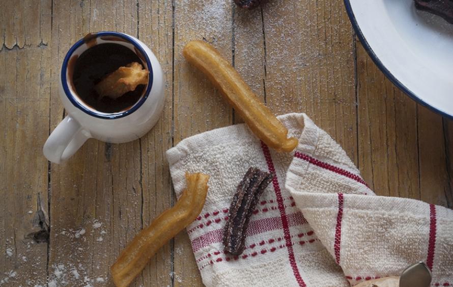 Receta de churros caseros blog my karamelli - Como hacer churros en casa ...
