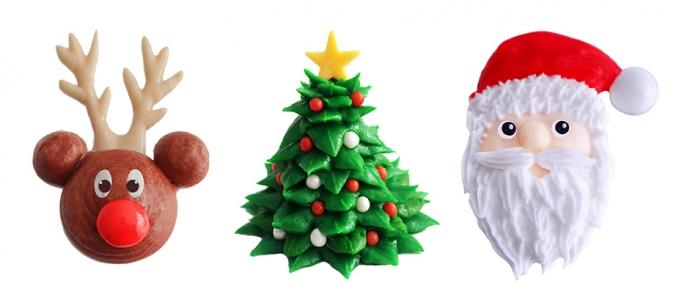 Como hacer tus propias decoraciones navideñas de azúcar paso a paso