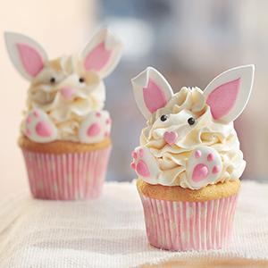 Cupcakes Conejo de Pascua