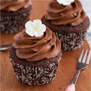 Cupcakes de chocolate ¡Extra esponjosos!
