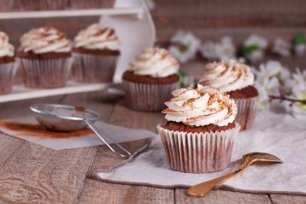 Cupcakes de Tiramisú ¡absolutamente irresistibles!