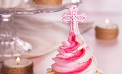 Cupcakes sabor Princesa y Crema Encantada para Comuniones