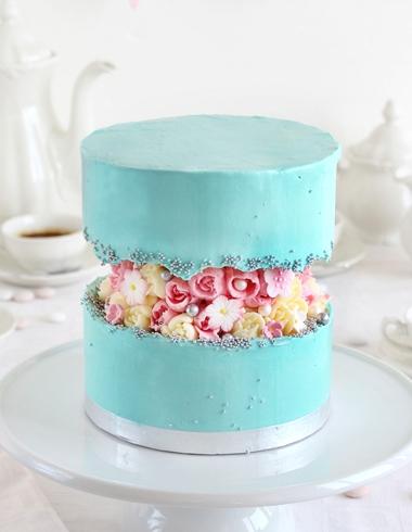 Fault Line Cake o Tarta de Línea Rota