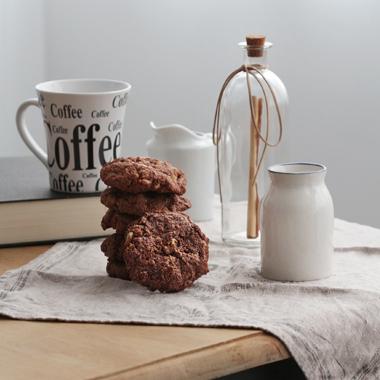 Galletas de chocolate sin mantequilla ¡ligerísimas!