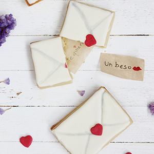 Galletas San Valentín Con Mensaje Sorpresa