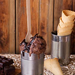 Helado de brownie: la receta perfecta para los amantes del chocolate (y del helado)