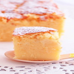 Tarta de limón suave y cremosa