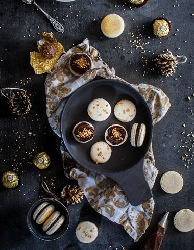 Macarons de Ferrero Rocher