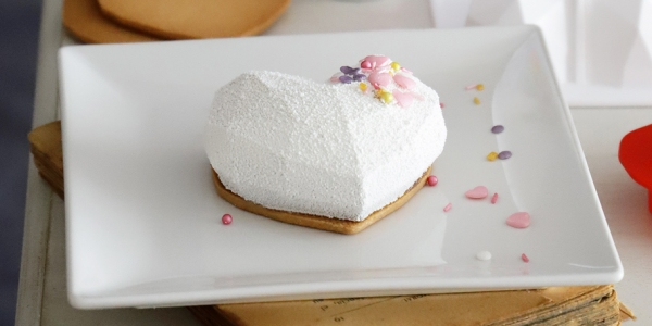 Mini Tartas con Forma de Corazón