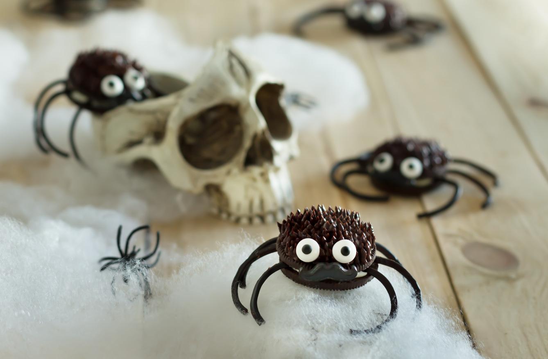 Arañas de oreo