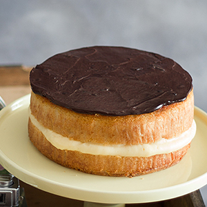 Tarta Boston o Boston Cream Cake