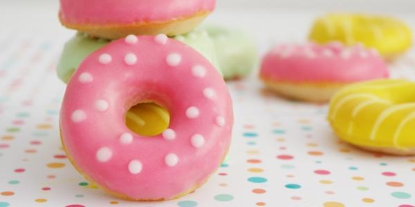 Receta de donuts al horno con aroma a Princess Cookies