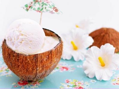 Receta de helado de coco ¡fácil y deliciosa!