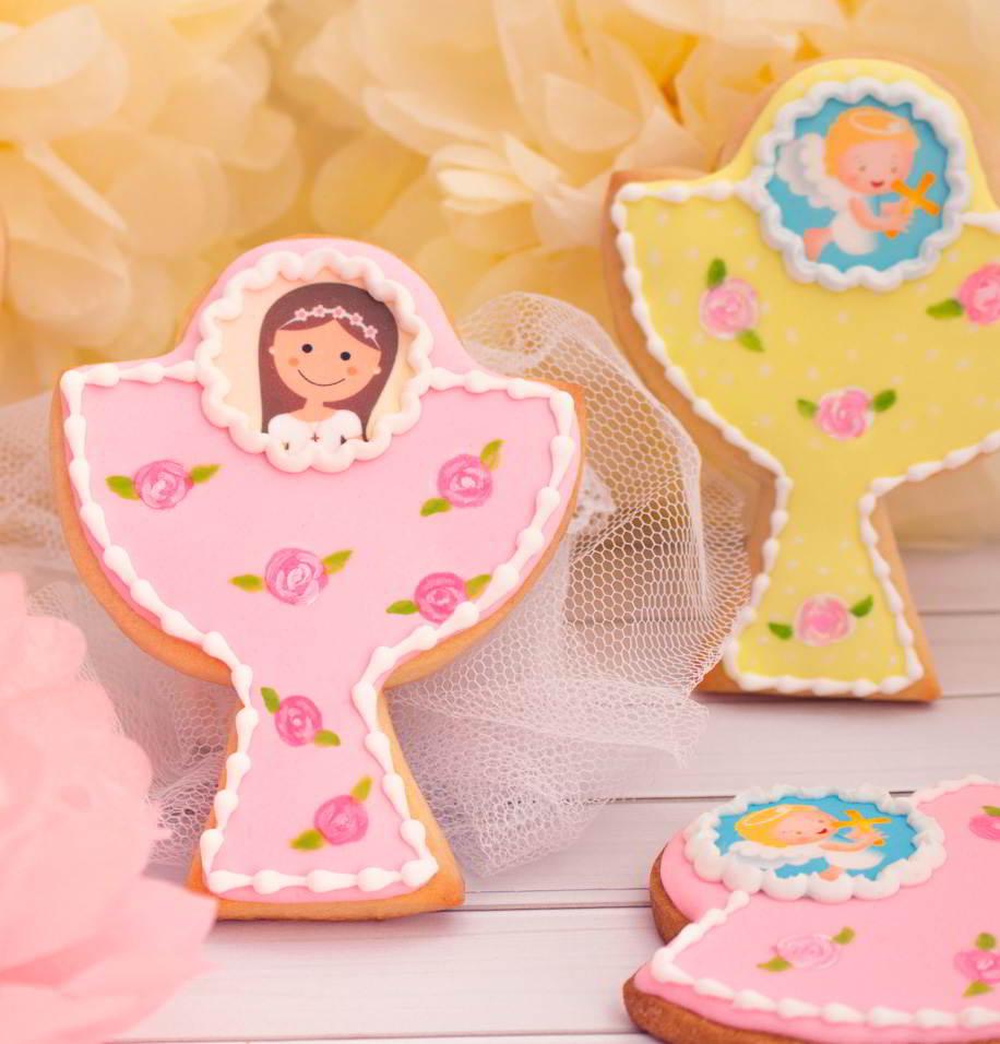 galletas de comunión niña