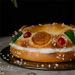 Roscón de Reyes con Masa de Brioche