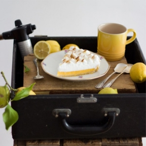 Tarta de de Limón y merengue