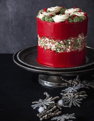Fault Line Cake de Navidad