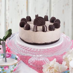 Tarta de Oreo y Chocolate blanco Sin Horno