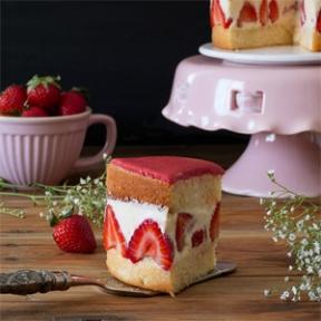Tarta Fraisier ¡la más exquisita de las tartas frutales!