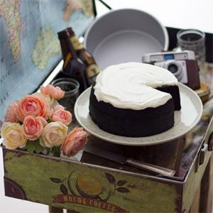 Tarta Guinness o Tarta de Cerveza Negra