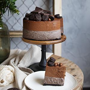 Tarta Mousse de Oreo y Chocolate