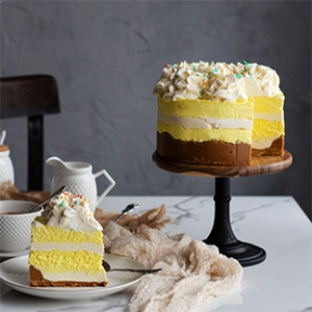 Tarta Mousse de Limón y Chocolate Blanco