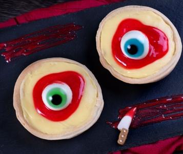 Tartaletas sangrientas para Halloween ¿Te atreves?