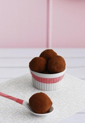 Trufas de chocolate (con permiso de M. Dufour)