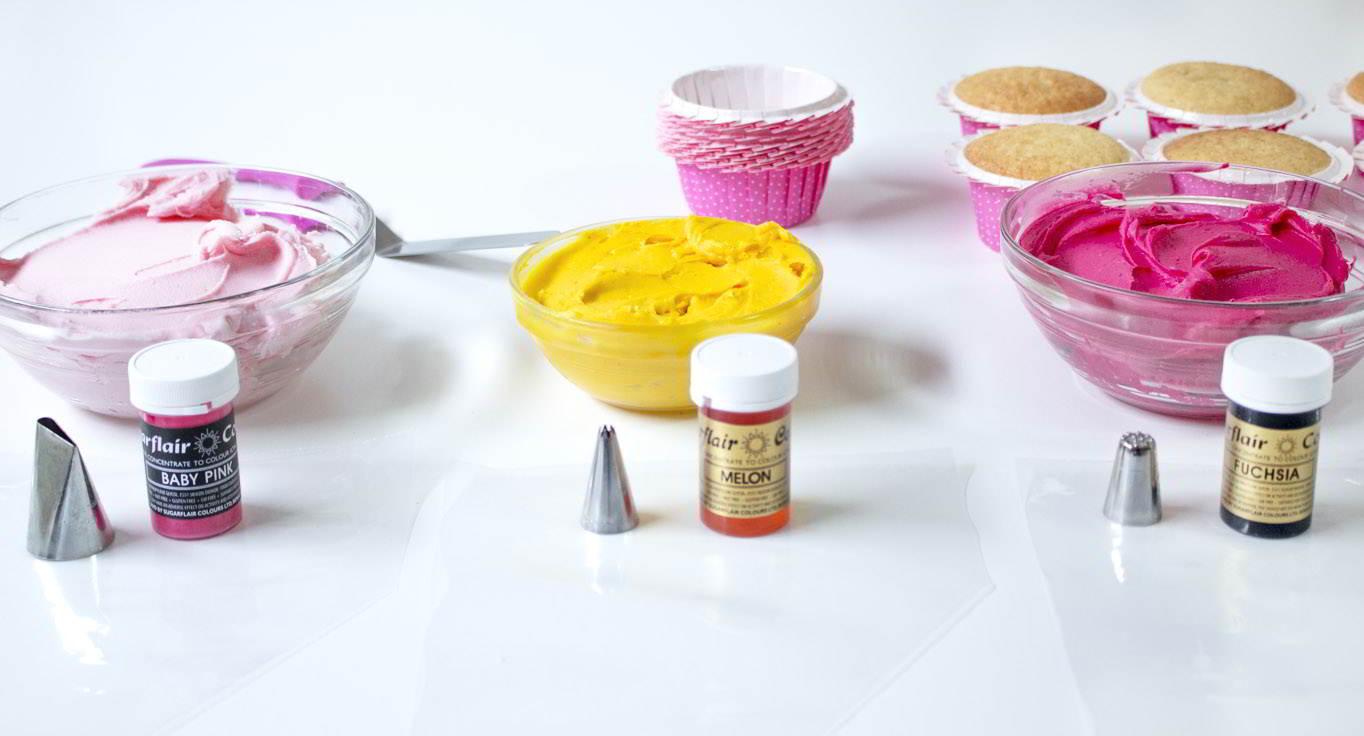utensilios cupcakes