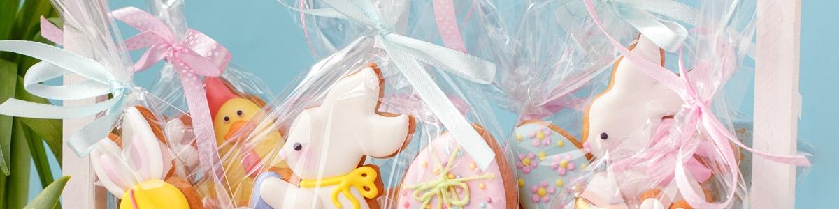 Bolsas, Cajas y Stands Pascua