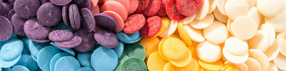 Coberturas de Colores y Candy Melts