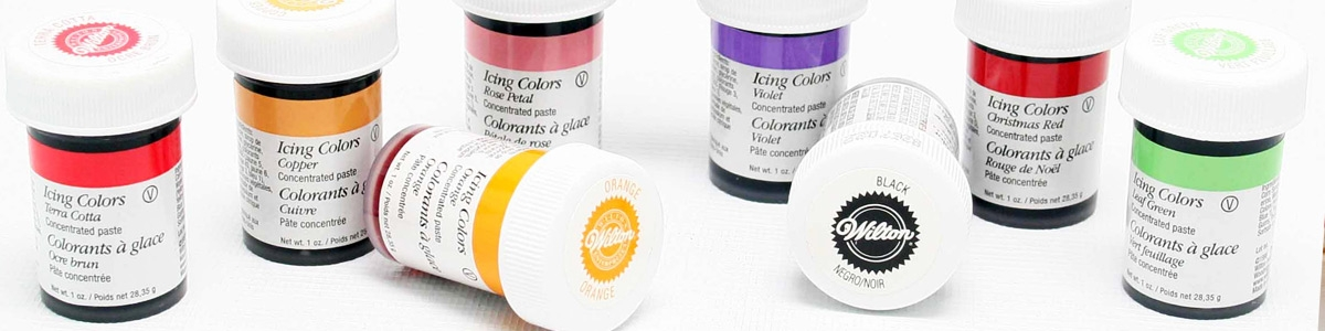 Colorantes en Gel Wilton