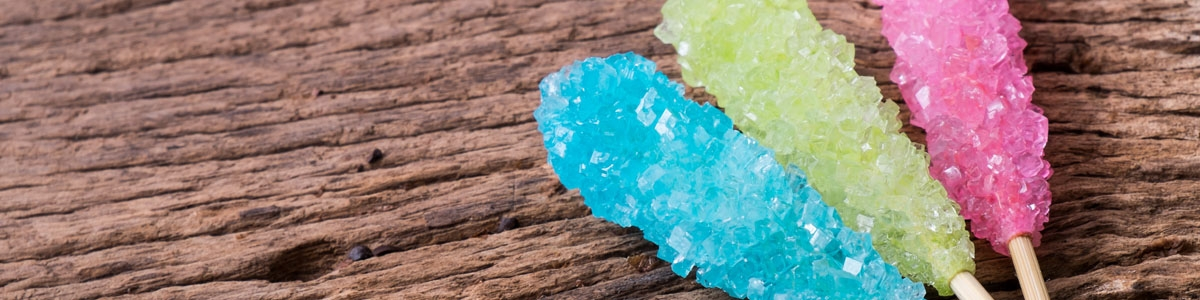 Cristales y fideos de Azúcar