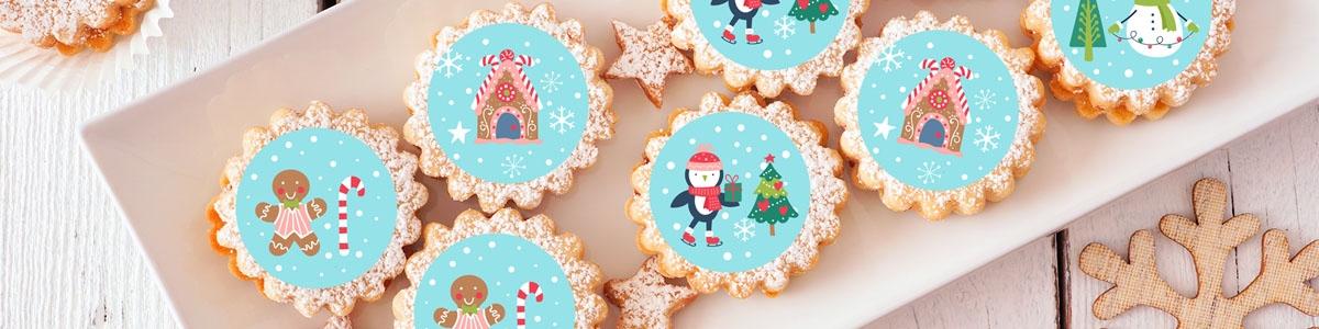 Impresiones Comestibles Navidad