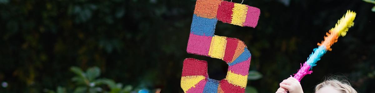 Piñatas Números